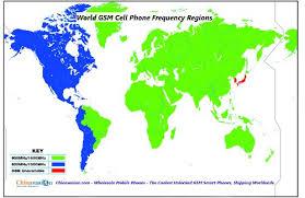 GSM frekvencie a frekvenčné pásma