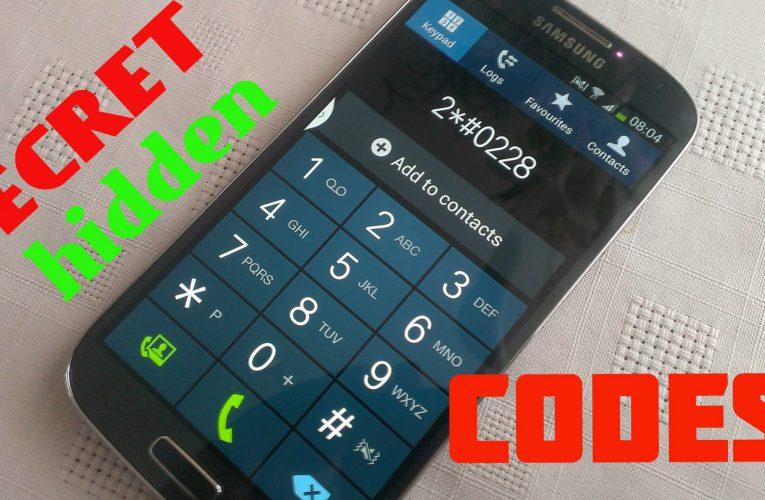 Tajné kódy pre smartfóny: iPhone a Android